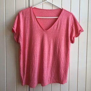 Zara pink knitted shirt